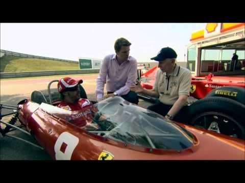 Evolution in 40 years Ferrari F1