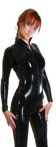 JustinLatex Black Latex Rubber Catsuit Unitard Front Zipper for Women (S, Black) JustinLatex http://www.amazon.com/dp/B00KXVMMXO/ref=cm_sw_r_pi_dp_D-Y6tb089CDSD