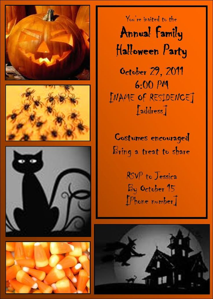 48 best images about Invitations – Free Printable Halloween Costume Party Invitations