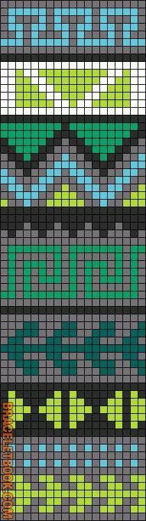 Chart for wayuu crochet