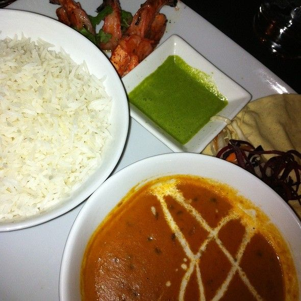 Shrimp And Dal Makhni