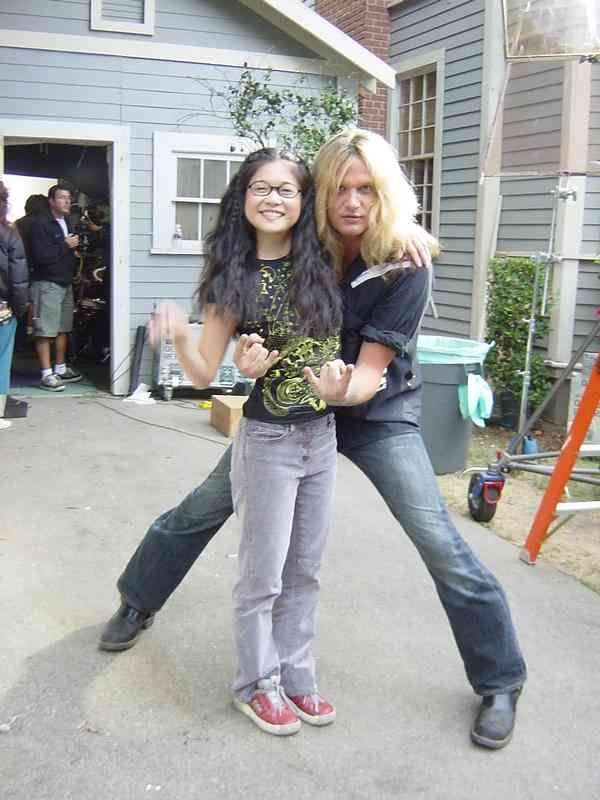 Lane & Gil -- aka Keiko Agena & Sebastian Bach.... can't believe he was on this show. Just makes me love it that much more!!!!!!