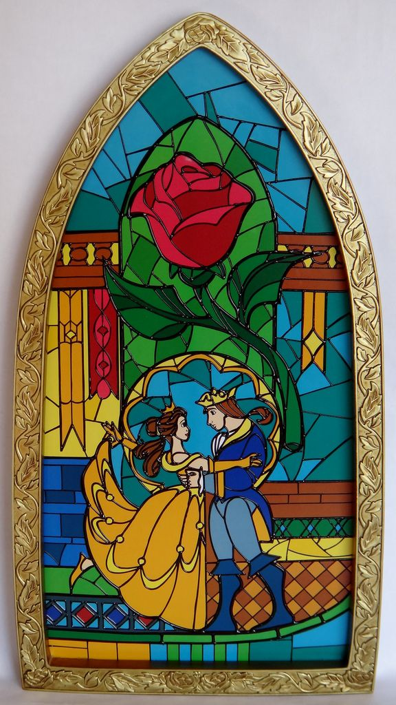Best Beauty And The Beast Window Replica Disney Store 640 x 480