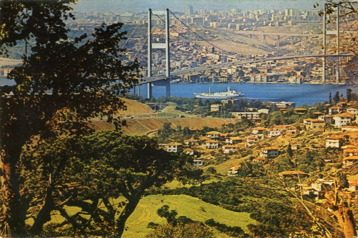 Çamlıca'dan Boğaziçi KöprüsüSALT Araştırma Fotoğraf Arşivi