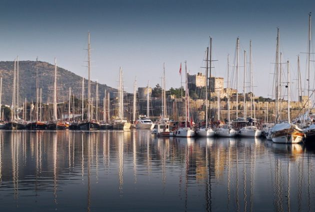 Day 1: BODRUM Boarding starts at 15:30 from Bodrum Harbour. On the first day, our boat will remain anchored in Bodrum Port for dinner and an overnight stay.