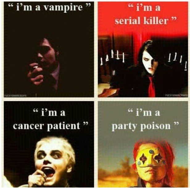 The evolution of Gerard Way