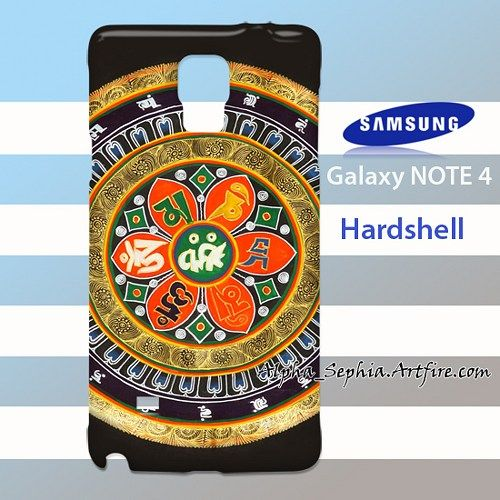 Mandala Om mani padme hum Samsung Galaxy S4 Case Cover Hardshell