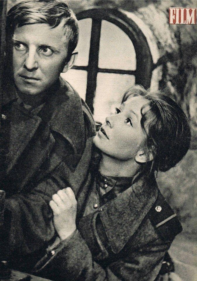 Elżbieta Czyżewska and Jerzy Turek on the cover Film, 1963.