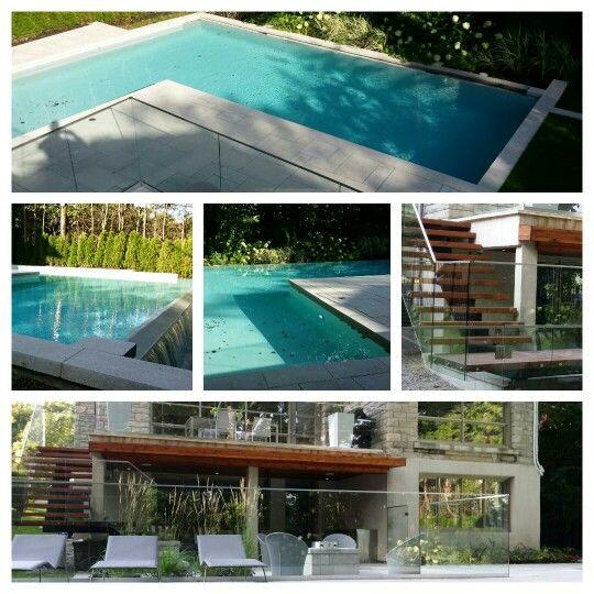 8 best paysagement de piscine creusée images on Pinterest Swimming