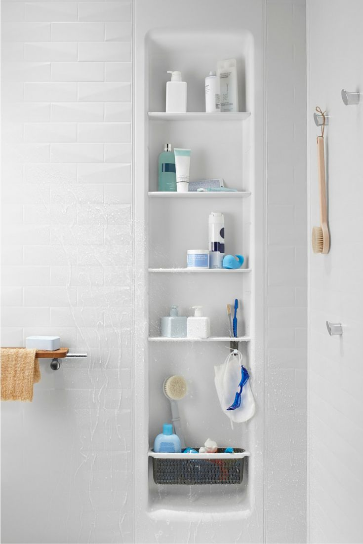 165 best Shower & Tub Wall Panels images on Pinterest   Bathroom ...