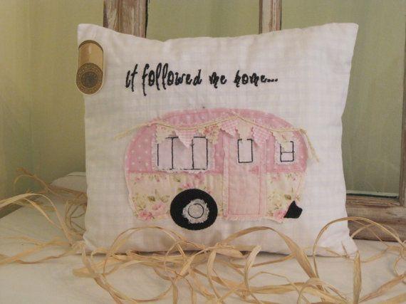 Pink 'It followed me home...' Vintage by BrambleWoodANDivy on Etsy
