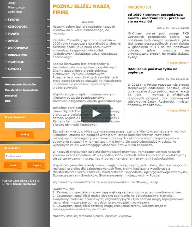 http://www.kapital.warszawa.pl/ SYNDYK WARSZAWA BIEGŁA SĄDOWA RESTRUKTURYZACJA  WYCENA PRZEDSIĘBIORSTW KSIĘGOWOŚĆ DORADCA RESTRUKTURYZACYJNY prowadzimy księgowość…