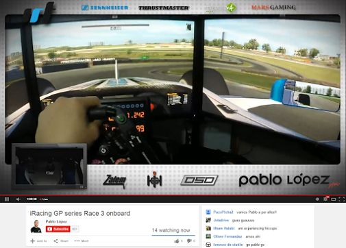 Planning to do some @iRacing tonight, but @PeiChecK livestream changed my…