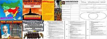 World History Korea and Vietnam War Lesson Bundle   Cornell Notes ...