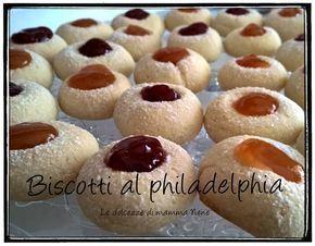 Biscotti al philadelphia, ricetta con il Bimby ma anche senza.