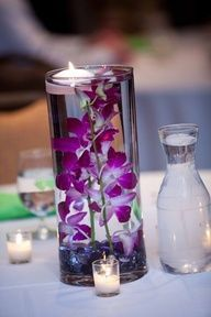Submerged centerpiece, Hydrangeas and Centerpieces on Pinterest