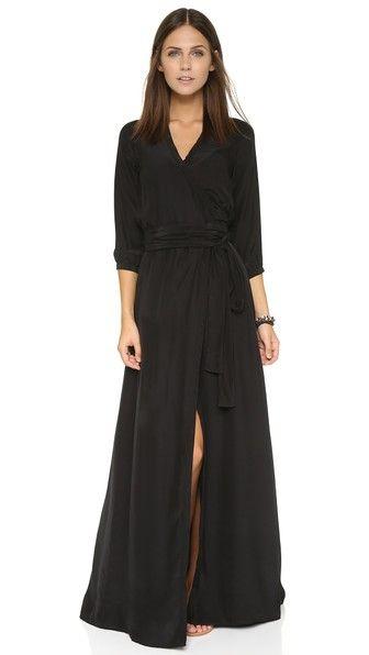Rhode Resort Длинное платье-халат Lenny
