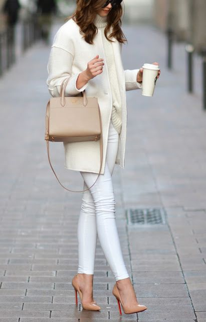 fashforfashion -♛ FASHION and STYLE INSPIRATIONS♛ - best outfit ideas: neutrals