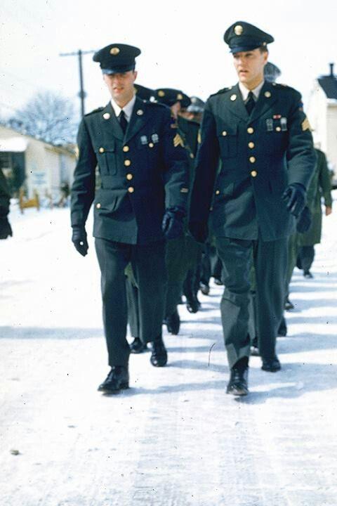 Elvis Presley in the army