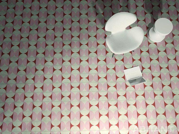 Коллекция плитки Индии Махдави. Милан 2015. Пополнение линейки Contemporary Cement Tiles от Bisazza