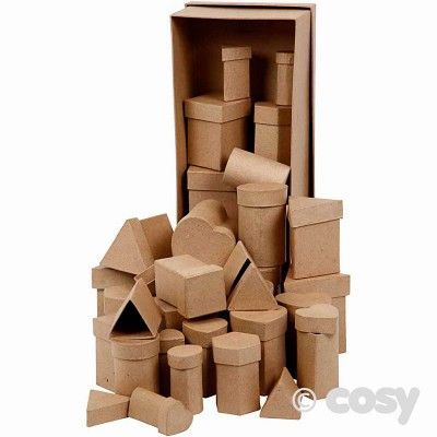 TALL BOXES (40PK) - Shape, Space and Measure - Maths - Early Years - Cosy Direct