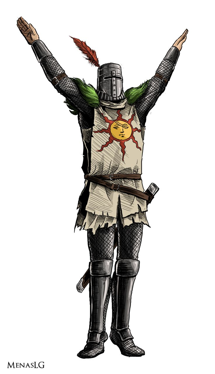 Dark Souls: Solaire by MenasLG on DeviantArt