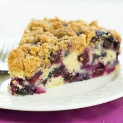 Blueberry Buckle - really great recipe, delicious served warm.