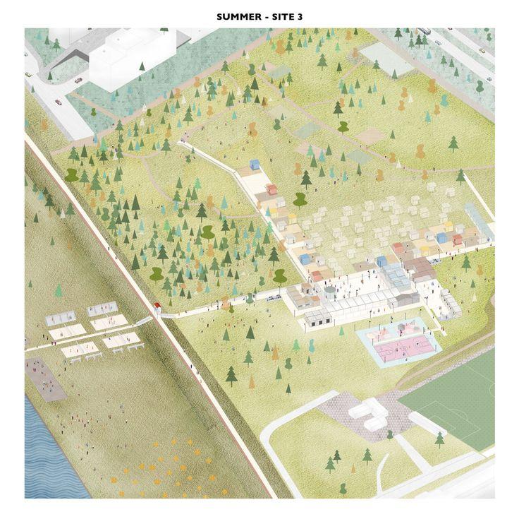 Drawing An Evocative Non Finito Architektur Visualisierung Architektur Zeichnungen Urbanes Design
