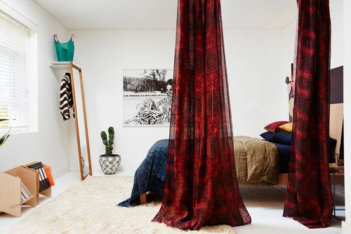 Amber Road - Cronulla Residence Stage 2 - Custom printed curtain drop