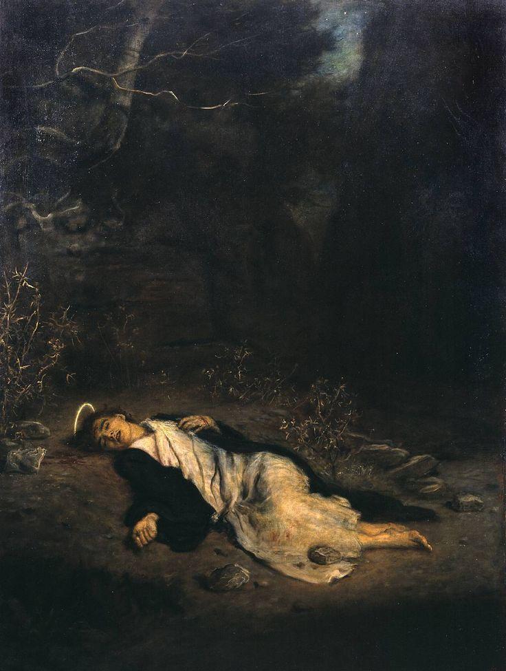 John Everett Millais - Saint Stephen (1895)  Art Experience NYC  www.artexperiencenyc.com
