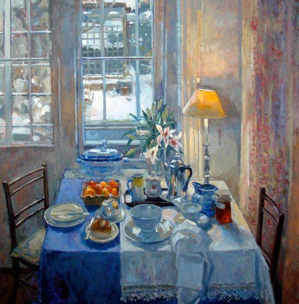 Pamela Kay | Breakfast in the Studio, Winter