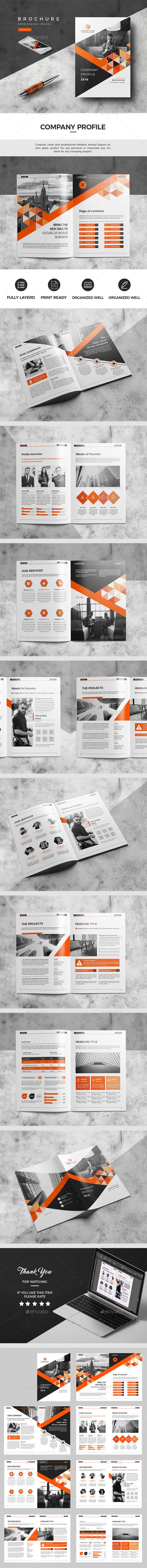 Corporate Annual Report Design Template - Catalogs Brochures Design Template InDesign INDD. Download here: https://graphicriver.net/item/annual-report/19370494?ref=yinkira