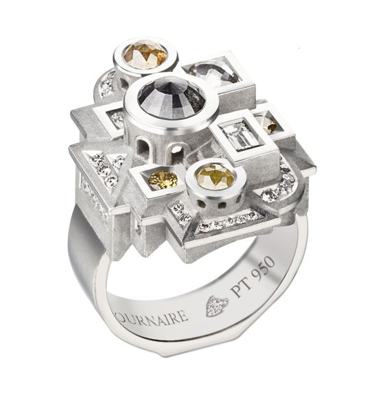 Bague Archipolis #tournaire #jewels #Architecture #jewelry #luxe
