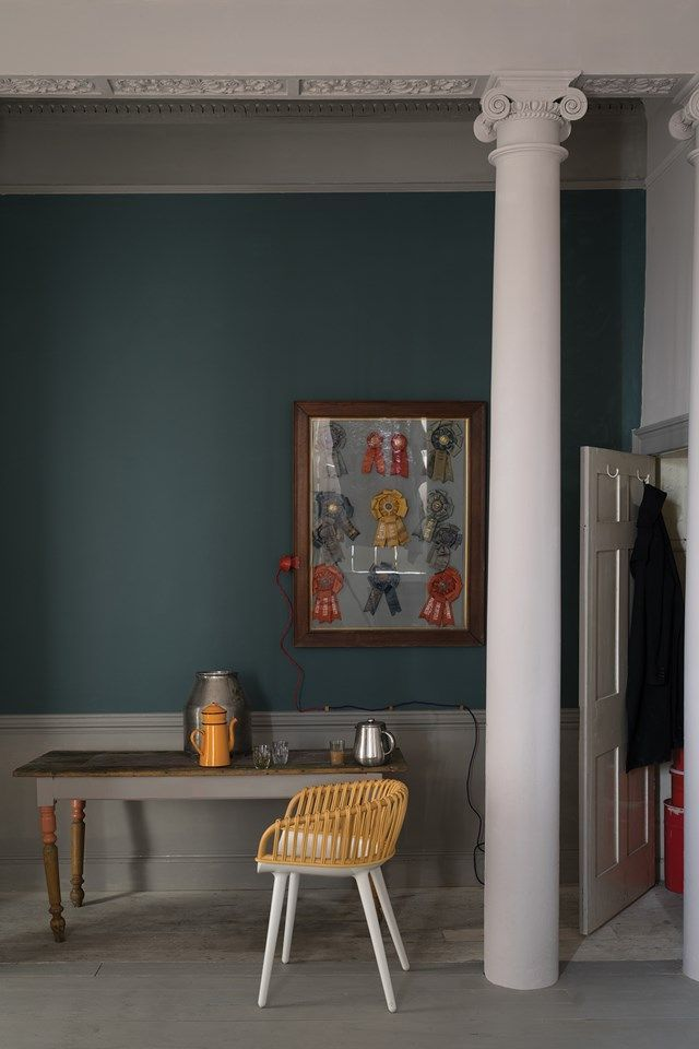 Inchyra Blue| Paint Ideas for new Farrow & Ball colours 2016 (http://houseandgarden.co.uk)