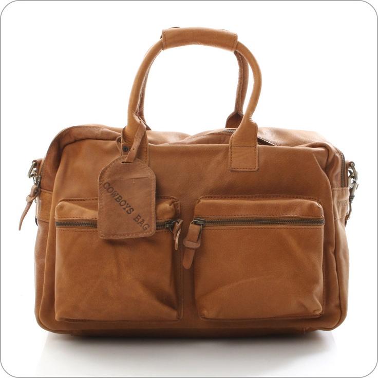 COWBOYSBAG LEDERTASCHE : The Bag Cognac : Vintage Ledertaschen von CowboysBag Onlineshop