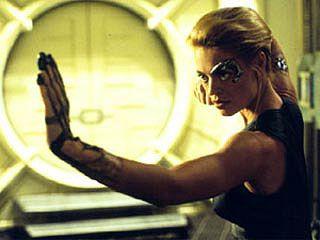 Seven of Nine - Jeri Ryan in Star Trek  Women in Sci-Fi/Horror