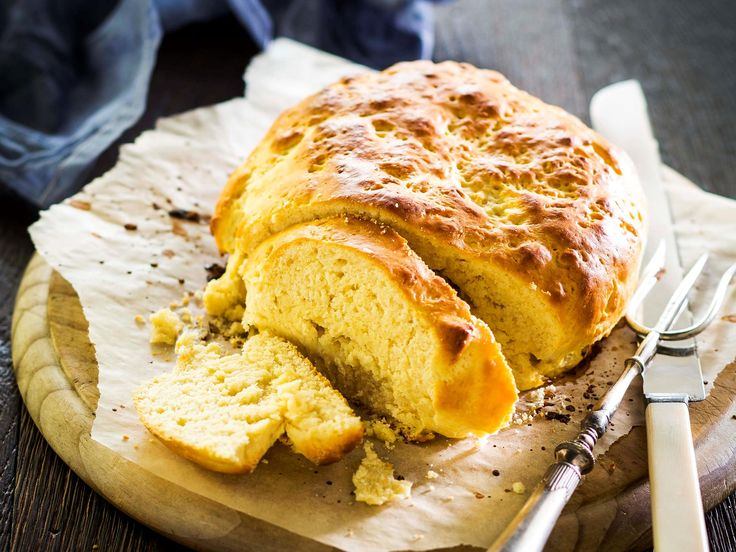 A classic Australian favourite, enjoy this traditional damper recipe by Cleo Lynch, from 'Love and Food from Gran's Table' by Natalie Oldfield. It's delicious served warm with a dollop of butter.