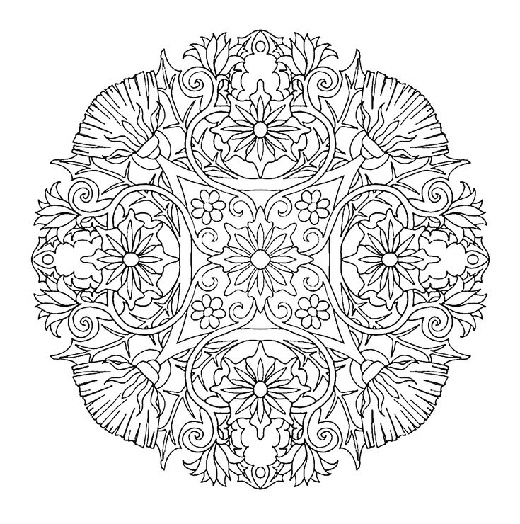 1601 best мандала images on Pinterest Mandalas, Coloring books and - best of printable coloring pages celtic designs