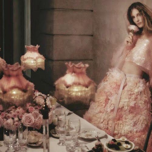 'Art of fashion' - Vogue Germany 2015 May