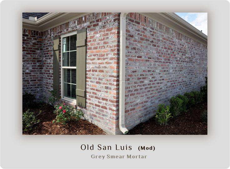 Light Grey Smear Mortar Home Build Inspiration