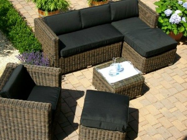 16 best Homedeco - Veranta images on Pinterest Backyard - rattan gartenmobel braun
