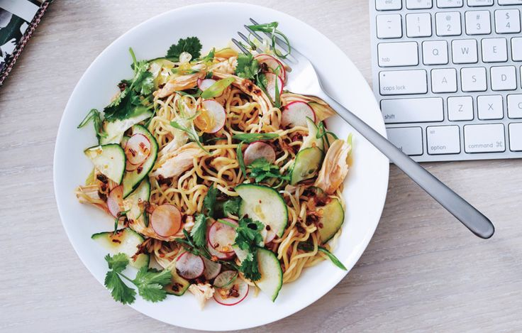 This bracing dish offers a taste of China's Sichuan Province and needs no reheating or additional prep at lunchtime.