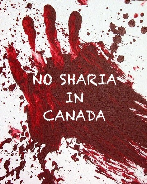 Keep those evil barbaric animals out of Canada and the USA!