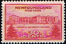 Newfoundland 1943 SG 290 Memorial University Fine Mint Scott 267 Other North American and British Commonwealth Stamps HERE!