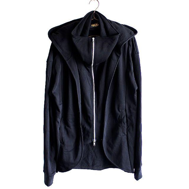 コーディガン風フェイクレイヤードダブルZIPパーカー | メンズスカートなどモード系ファッションの通販 albino