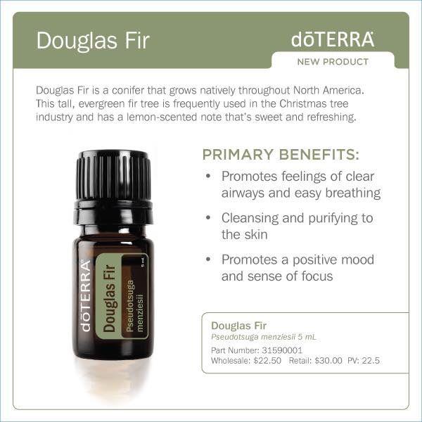 dōTERRA Douglas Fir   dōTERRA usages   Pinterest   Douglas ...