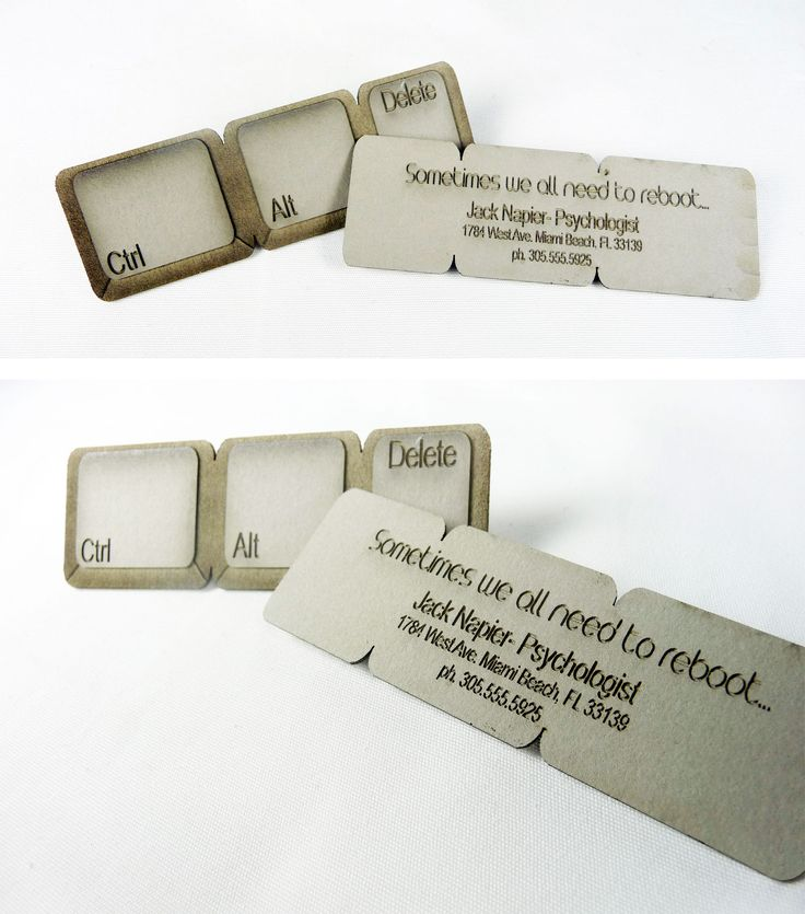 Ctrl-Alt-Delete Business Card