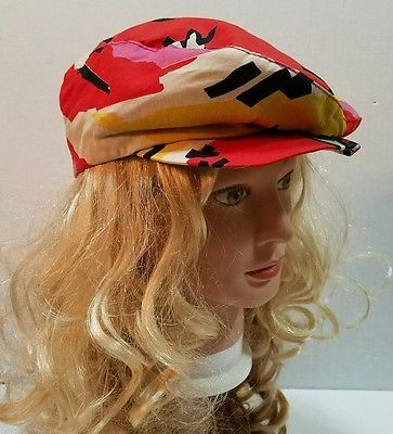 Vtg AMALGAMATED CLOTHING & TEXTILE WORKERS UNION Cabbie Cap Med. Tropical
