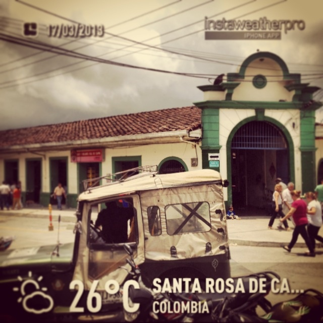 Plaza de mercado Santa Rosa de Cabal, Risaralda - Colombia