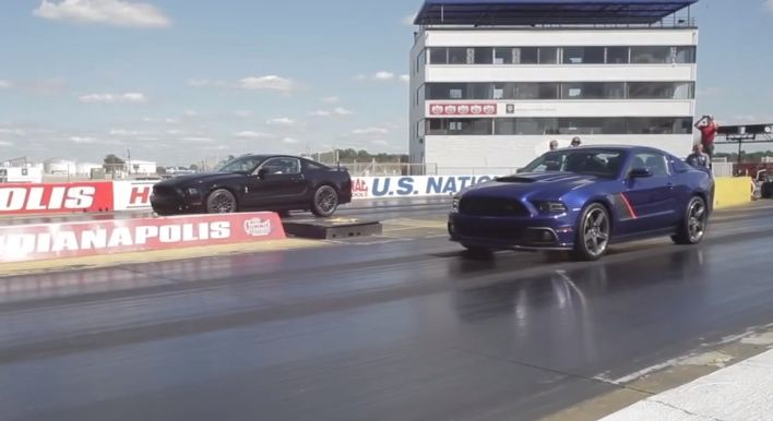 Battle of the Mustang Titans: Shelby GT500 vs. Roush Stage 3 [Video]